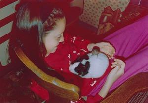 Meerschweinchen Sara mit Stieglitz-Patient
